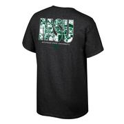 Michigan State Map Initials Tee Shirt
