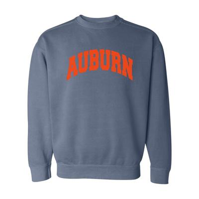 Auburn Summit Comfort Colors Crewneck Sweater