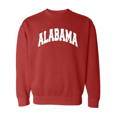 Alabama Summit Comfort Colors Crewneck Sweater