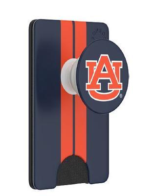 Auburn PopSockets Stripe PopWallet+