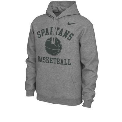 Michigan State Nike Men's Basketball Phys Ed Fleece Hoody