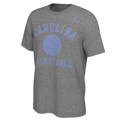 UNC Jordan Brand Men's Basketball Phys Ed Tee