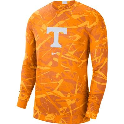 Tennessee Nike Men's Dri-Fit Spotlight Long Sleeve Shirt