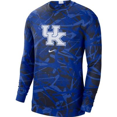 Kentucky Nike Men's Dri-Fit Spotlight Long Sleeve Shirt