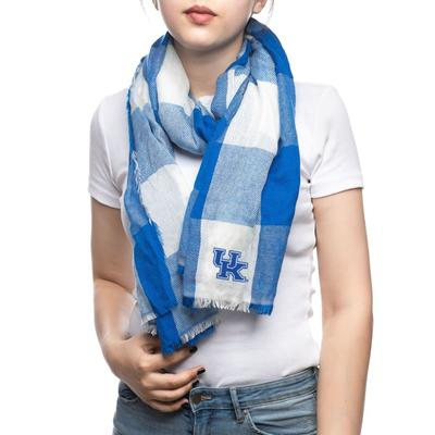 Kentucky Wildcats Buffalo Check Scarf