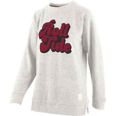 Alabama Retro Angie Chenille Comfy Terry Crew Sweater