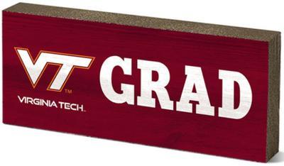 Virginia Tech Legacy Mini Table Top Grad Decor