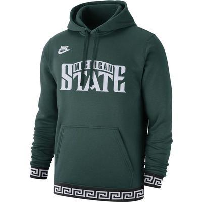 Michigan State Nike Men's Club Vintage Fleece Hoodie