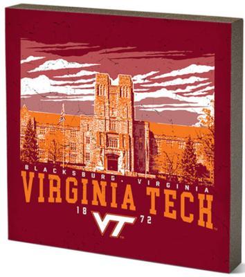 Virginia Tech Legacy Campus Table Top Decor