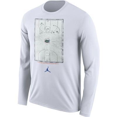 Florida Jordan Brand Men's Basketball Court Long Sleeve Shirt