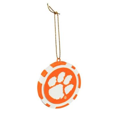 Clemson Game Day Token Ornament