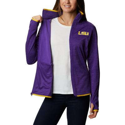 LSU Columbia Women's CLG Sapphire Trail Fleece Jacket