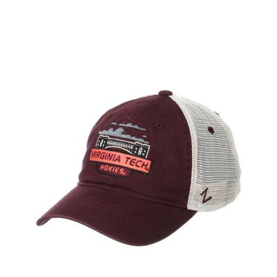 Virginia Tech Landmark Patch Mesh Trucker Hat