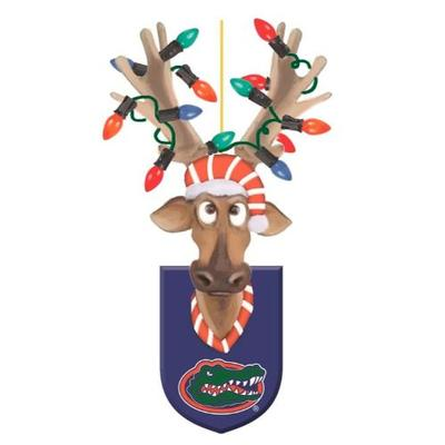 Florida Gators Reindeer Ornament