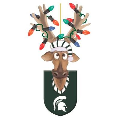 Michigan State Reindeer Ornament
