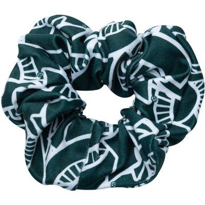Michigan State Zoozatz Stack Logo Hair Scrunchie