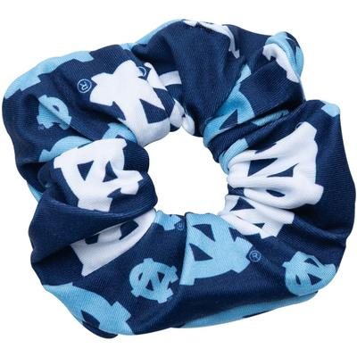 UNC Zoozatz Stack Logo Hair Scrunchie