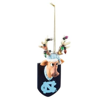 UNC Reindeer Ornament