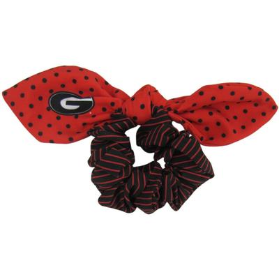 Georgia Zoozatz Polka Dot Scrunchie with Bow