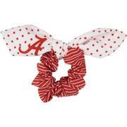 Alabama Zoozatz Polka Dot Scrunchie With Bow