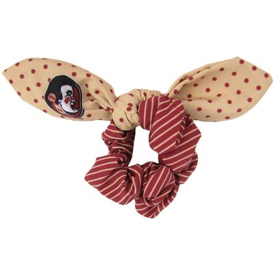 Florida State Zoozatz Polka Dot Scrunchie with Bow