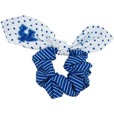 Kentucky Zoozatz Polka Dot Scrunchie with Bow