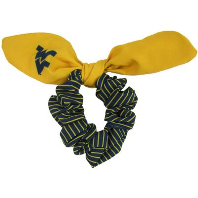 West Virginia Zoozatz Scrunchie with Bow