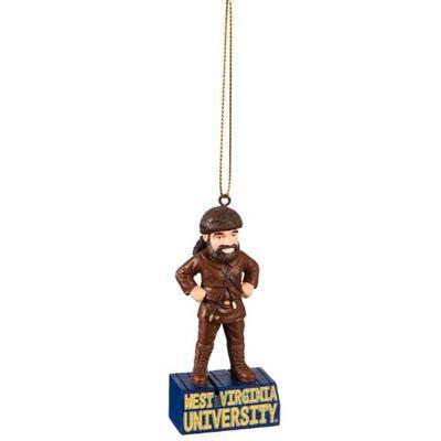 West Virginia Mascot Statue Ornament