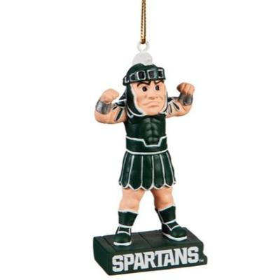 Michigan State Mascot Statue Ornament