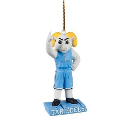UNC Mascot Statue Ornament