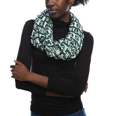 Michigan State Zoozatz Block Logo Scarf