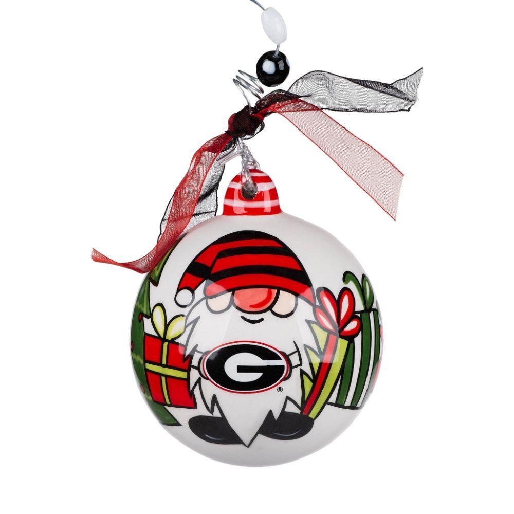 Georgia Bulldogs Gnome Ornament