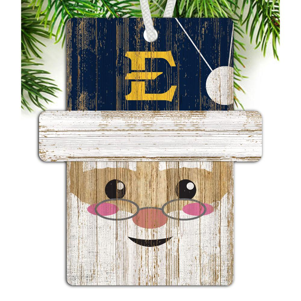 Etsu Santa Ornament