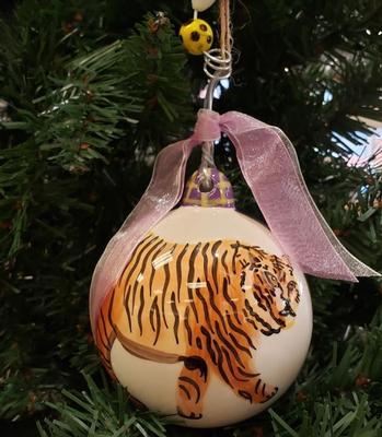 LSU Tigers Ornament