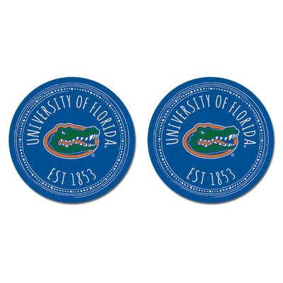 Florida Legacy Southern Pastime Car Coasters 2 Pack