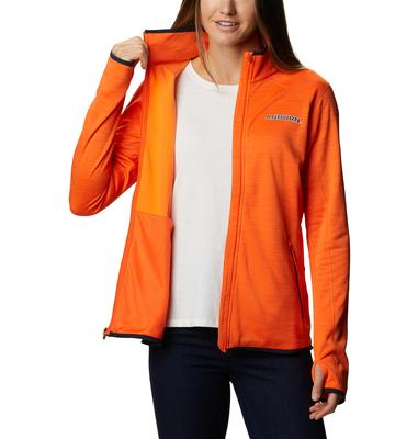 Auburn Columbia Women's CLG Sapphire Trail Fleece Jacket