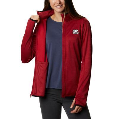 Alabama Columbia Women's CLG Sapphire Trail Fleece Jacket