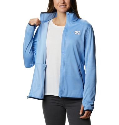 UNC Columbia Women's CLG Sapphire Trail Fleece Jacket