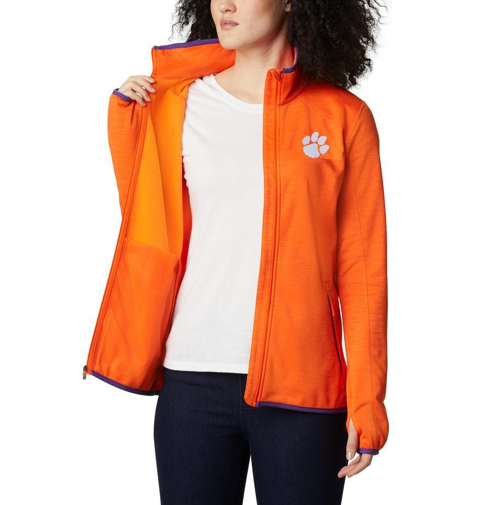 Clemson Columbia Women's Clg Sapphire Trail Fleece Jacket