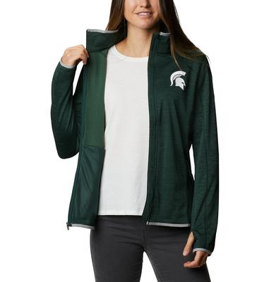 Michigan State Columbia Women's CLG Sapphire Trail Fleece Jacket