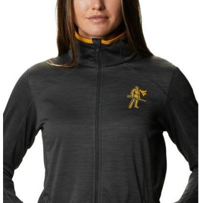 West Virginia Columbia Women's CLG Sapphire Trail Fleece Jacket