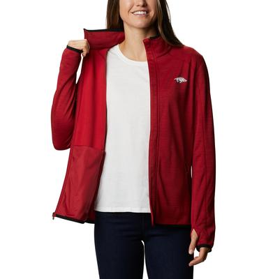 Arkansas Columbia Women's CLG Sapphire Trail Fleece Jacket