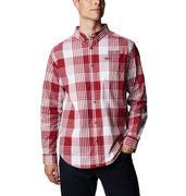 Alabama Columbia Men's Rapid Rivers Plaid Long Sleeve Shirt