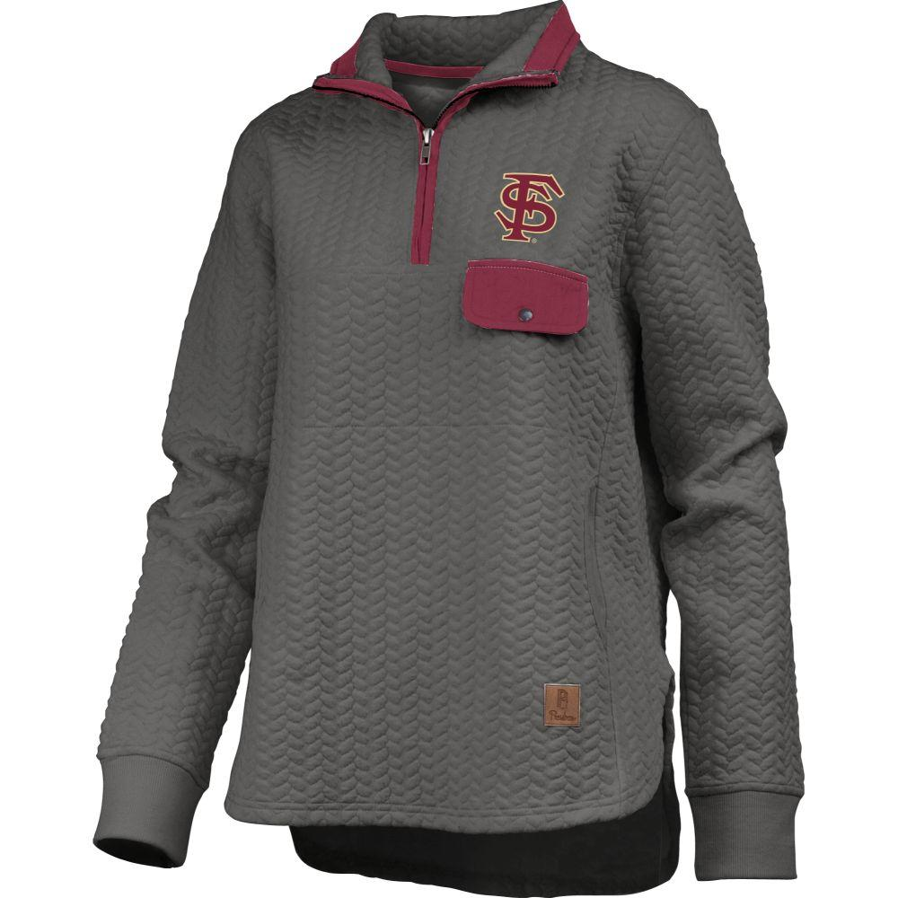 Florida State Women's Pressbox Caribou Quilted 1/4 Zip
