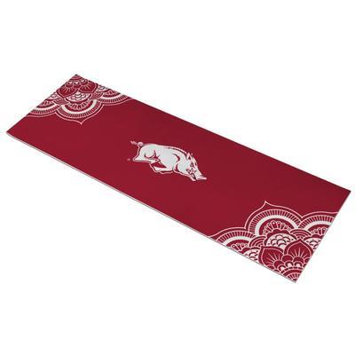 Arkansas Running Hog Yoga Mat