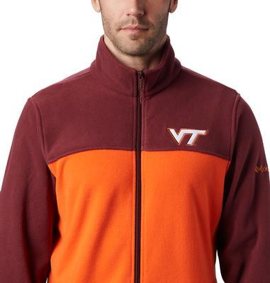 Virginia Tech Columbia Men's Flanker III Fleece Jacket - Big Sizing