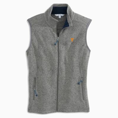 Tennessee Women's Southern Tide Gameday Fleece Sweater Vest