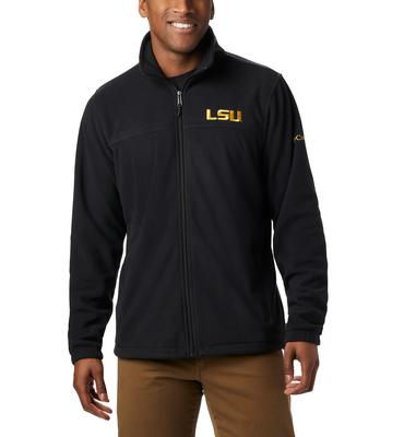 LSU Columbia Men's Flanker III Fleece Jacket - Tall Sizing