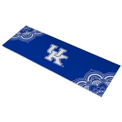 Kentucky UK Logo Yoga Mat