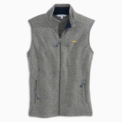 LSU Women's Southern Tide Gameday Fleece Vest